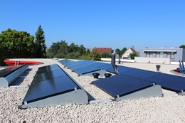 hoek zonnepanelen